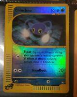 Pokemon Chinchou 70/147 Reverse Holo Aquapolis MP