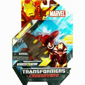 Transformers Iron Man CROSSOVER SERIES Factory Sealed 2008 Marvel