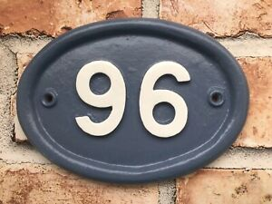 Vintage House Sign Plaque Number Plate Custom Made Address Door Shabby Chic