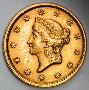 USA 1851 Type I Gold One Dollar - Philadelphia Mint