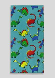 P Kids Boys Girls BNWT  Matalan Dinosaur Beach Towel 70 x 140 cm     (CF)