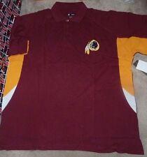 NEW NFL Washington Redskins Golf Polo Shirt Men BIG 3XL XXXL NEW NWT