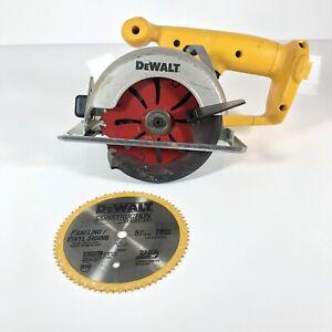 "DEWALT  DW935 Cordless Trim Saw, 5-3/8"". Includes blades, Original Owner."