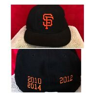 SWEET SF San Francisco giants new era baseball hat with Years sewn Stitched MLB
