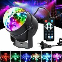 Mini RGB LED Ball Laser Projector Stage Light Auto Magic DJ Club Disco KTV Party