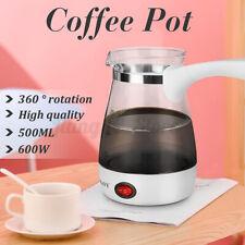 SOKANY Electric Coffee Maker Pot Espresso Turkish Greek Latte Water Kettle 500ML