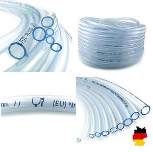 PVC Schlauch Aquariumschlauch Wasserschlauch Luftschlauch klar Ø 2 - 24 mm