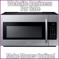 MICROWAVES Website Earn $28.50 A SALE|FREE Domain|FREE Hosting|FREE Traffic