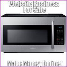 MICROWAVES Website Earn $28.50 A SALE FREE Domain FREE Hosting FREE Traffic