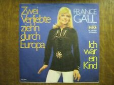FRANCE GALL 45 TOURS GERMANY ICH WAR EIN KIND (2)