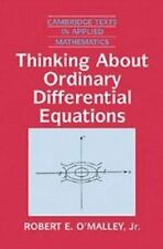 Thinking about Ordinary Differential Equations (Cambridge Texts in Applied Mathe