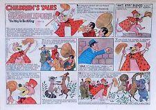 Snagglepuss - Hanna-Barbera - Art Seiden - half-page Sunday comic March 15, 1970