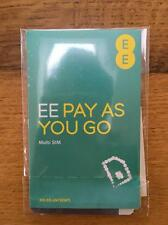 T-mobile/EE Pay As You Go  Trio (Nano/Micro/Standard) buy 1 get 1 free