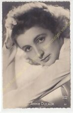 RPPC CPSM STAR ANNIE DUCAUX photo STUDIO PIAZ Edit O.P. 57