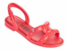 Melissa X Jeremy Scott Ultragirl Tube Sandals Neon Orange 6/6.5 37 NIB