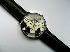 Unbranded Genuine Leather Strap Round Wristwatches
