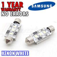 *VW Passat 3B B5 3C B6 License Number Plate LED Light Bulbs - Xenon White 6000k