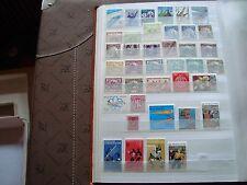 MONDE - 39 stamps majorities n stamp