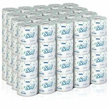 80 NEW! Scott Perforated Toilet Tissue, White, 4'' W x 4.1'' L Rolls -Case of 80