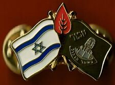 ISRAEL  BORDER POLICE REMEMBRANCE DAY FOR  BORDER POLICE BSPACES PIN BADGE