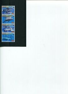 WWF MALDIVES Melon-headed Whale 4v set MNH POST-FREE