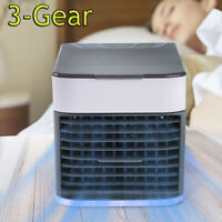 Mini Air Conditioner Desktop Cooler Purifier Humidifier USB Portable Cooling Fan