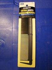 NEW Conair Carbon Smooth Detangle & Style Antistatic Large Dressing Comb