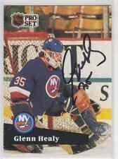 Autographed 91/92 Pro Set Glenn Healy - Islanders
