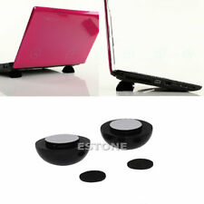 1PC NEW HOT Laptop Notebook Cool Ball Cooler Stand + Skidproof Pad
