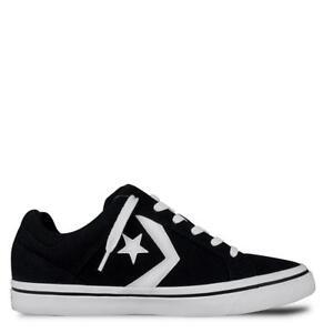 Converse EL DISRITO OX Canvas Unisex Shoes Black/White/Black 155064C