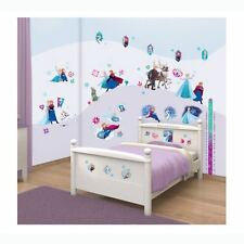WALLTASTIC DISNEY FROZEN ROOM DECOR KIT SELF ADHESIVE REMOVABLE STICKERS x88