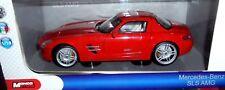 car 1/18 MONDO 50106 MERCEDES BENZ SLS AMG C197 RED 2010 NEW BOX