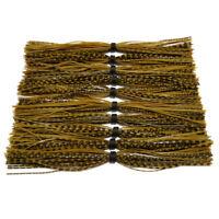 10pcs Banded Baitfish Skirts For spinner bait bass Banded fishing Skirts SF033