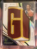 Bol Bol 2019-20 Panini Immaculate Rookie Team Logo Patch /43 Denver Nuggets Ssp