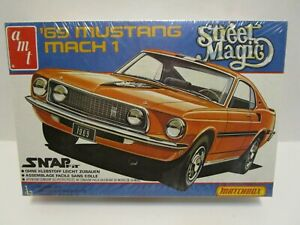 1981 AMT MATCHBOX STREET MAGIC '69 MUSTANG MAC 1 1/43 MODEL KIT *FACTORY SEALED*