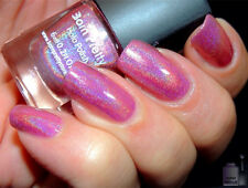6ml Born Pretty Holographic Nail Art Polish Pink Holo Effect Glitter Varnish 3#