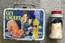 GET SMART  METAL LUNCH BOX AND THERMOS  1966  KING SEELEY  TV