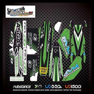 GasGas TXT 2013 2015 Kit Green Black White (891)