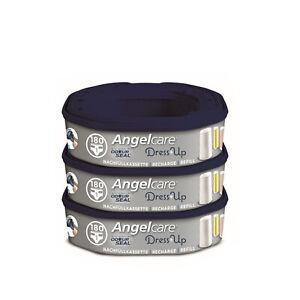 Angelcare Nachfüllkassetten für Windeleimer Dress-Up und Classic XL 3 Stück TOP