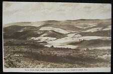 State College PA Centre County Bald Eagle Lookout RPPC DOPS Real Photo Postcard