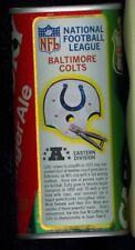 1976 Canada Dry Ginger Ale Soda Pop Can Football NFL League Baltimore Colts