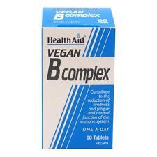 HEALTH AID VEGAN B COMPLEX - 60 TABLETS
