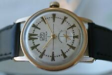 GREAT GERMAN GOLD-PLATED UMF RUHLA WATCH 15 JEWELS!
