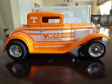 MODEL A FORD CHOPPED COUPE STREET ROD UT TENNESSEE VOLS LTD ED 1/25 LIBERTY