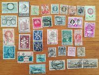 lot N°103 - 34 timbres BELGIQUE