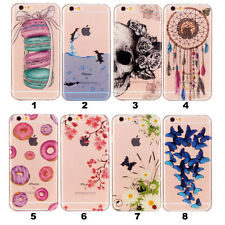 Handy Hülle Schutzhülle Für Apple iPhone 5 5s SE 6 Plus Samsung Soft Case Cover