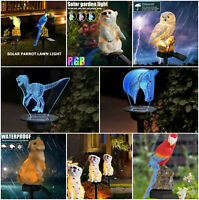 LED Solar Power Lawn Light Outdoor Waterproof Garden Stake Decor Landscape Lamp