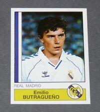 128 BUTRAGUEÑO REAL MADRID PANINI LIGA FUTBOL 87 ESPAÑA 1986-1987 FOOTBALL