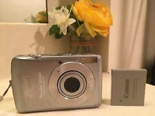 Canon PowerShot Digital Camera ELPH SD630 model PC1147 6.0MP - Clean Condition