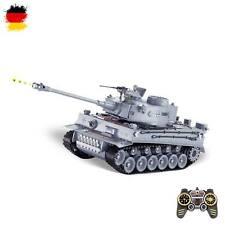 RC ferngesteuerter German Tiger I Panzer mit Akku, Schuss-Funktion, Sound, Licht